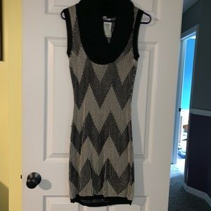 NWT Cowl neck Sleeveless Sweater Dress